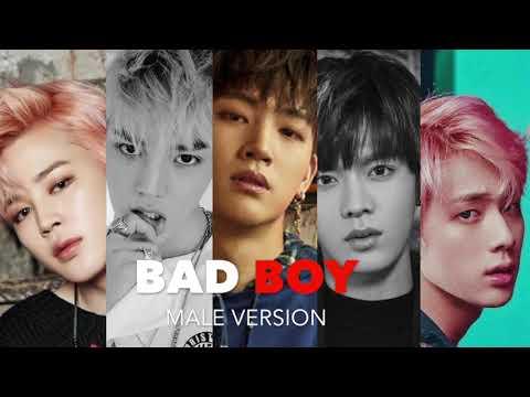 ♂ Male Version   Red Velvet - BAD BOY [HQ AUDIO]