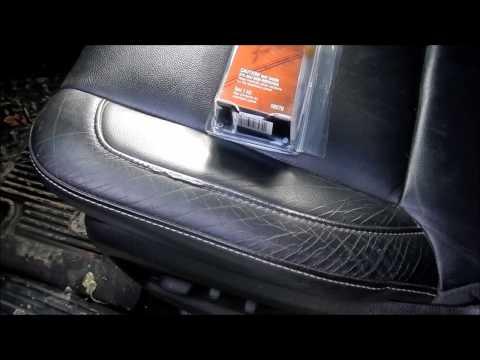 Leather Seat Repair (3M leather and Vinyl repair kit)