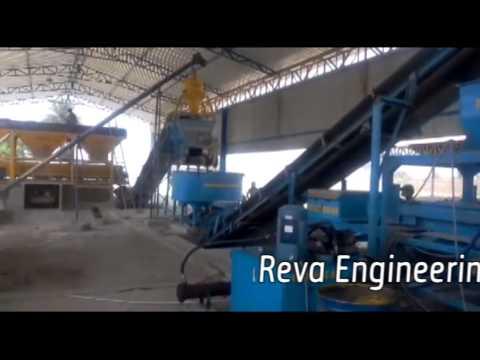 FLY ASH / CONCRETE BRICK MAKING PALANT-AUTOMATIC RBM-30
