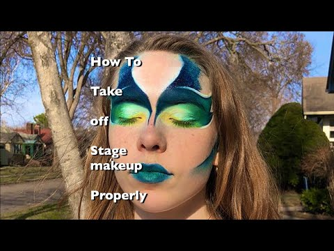 HOW TO REMOVE STAGE MAKEUP // Dance Circus Me