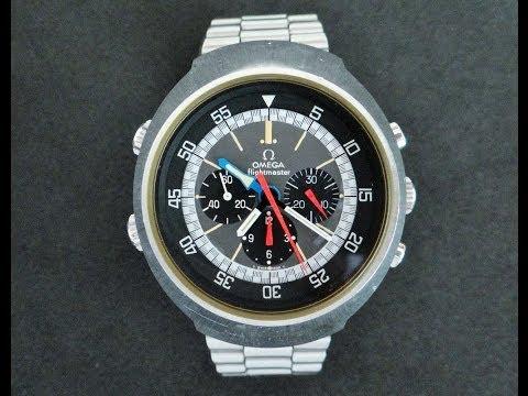 Vintage 1970's Omega Flightmaster 911 Watch