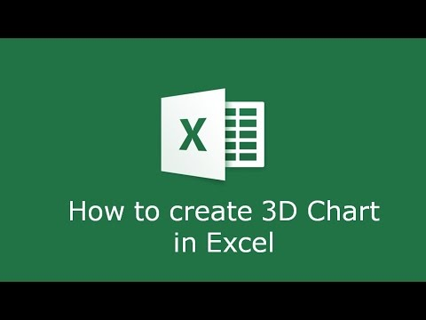 How to create a 3D graph in Microsoft Excel