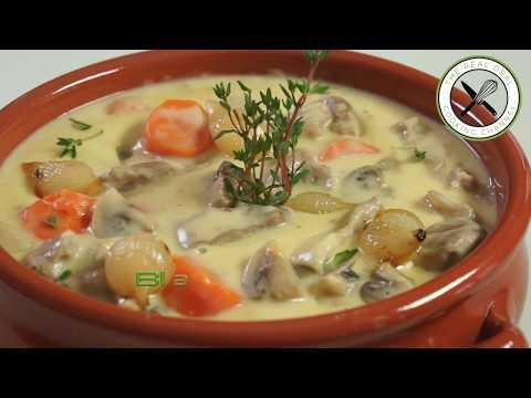 Blanquette de Veau / Veal Stew – Bruno Albouze – The Real Deal