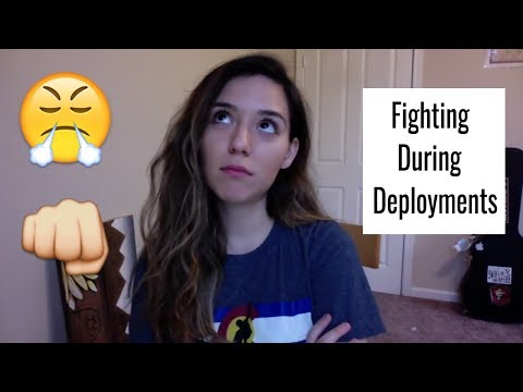 How To Handle Fights Through Texting/Emails During Deployment