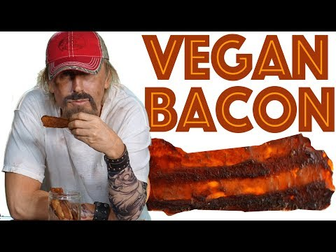 Make Your Own VEGAN BACON JERKY _Super Healthy, EASY and FAST