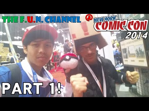 The F.U.N. Channel @ New York Comic Con 2014! | Part 1