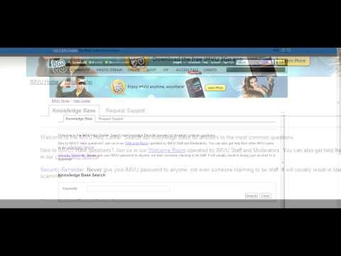 IMVU Tutorial-How To Request Name Change [IMVU]