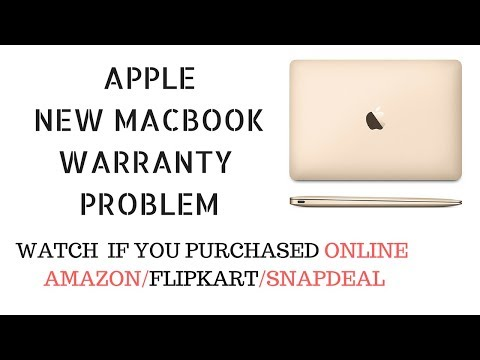 NEW MACBOOK WARRANTY PROBLEM | MAC PURCHASED ONLINE [AMAZON/FLIPKART]| CHECK APPLE WARRANTY HINDI