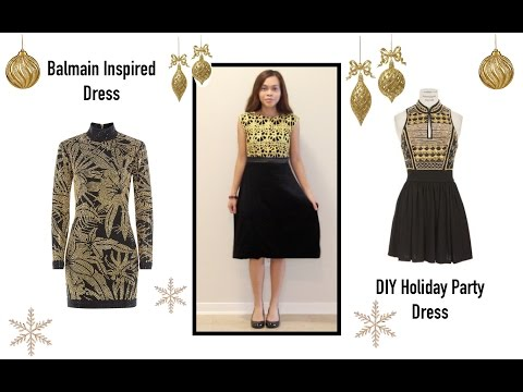 How to sew a Holiday Dress