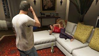 ترايفر يلتقي أماندا بعد وفاة مايكل وحدث هذا في جي تي أي 5 | GTA V Trevor Meets Amanda
