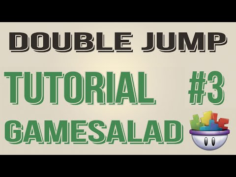 Gamesalad Tutorial - Double Jump