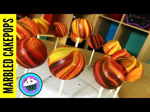 How to make Marbled Cake Pops | Pinch of Luck