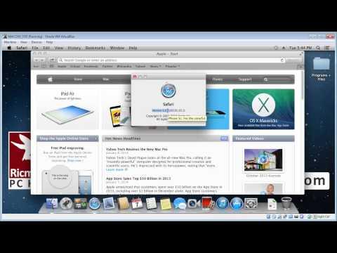 Check Apple Safari browser version (MAC)