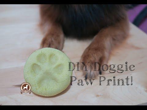 DIY Paw Print (Salt Dough Recipe)