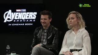 Download Avengers: Endgame Korea | Interview with Jeremy Renner, Brie Larson and the Russo Brothers Video