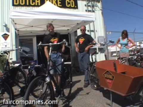 Dutch bikes: appliances, not sporting goods