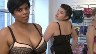 Inside the Casting of a Plus-Sized Lingerie Show