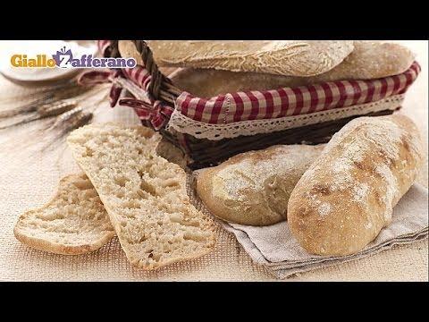 Ciabatta bread - original Italian recipe
