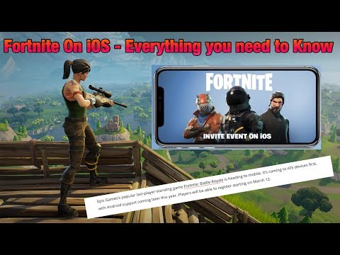 Fortnite on iOS - Everything You Need to Know!