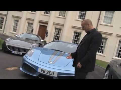 Ferrari's Line-up of Models with Personalised Number Plates from DVLA