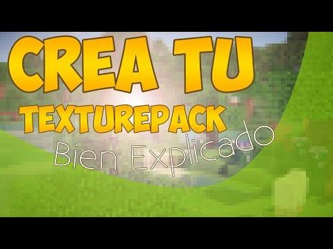 Como Crear Tu Propio Texture Pack Para Minecraft Pe