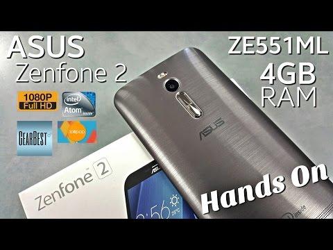 Asus Zenfone 2 - [Hands On] - ZE551ML - 4GB/32GB - 5.5