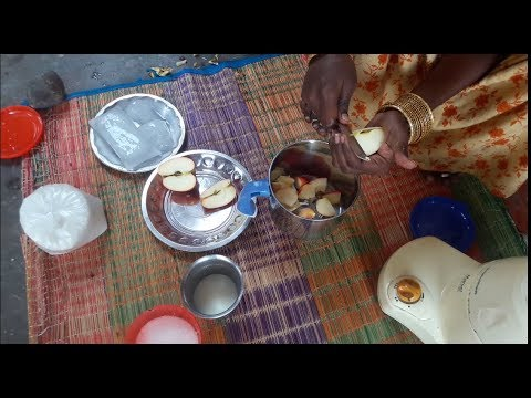 How to Make Apple Juice in Village