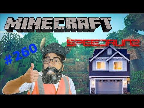 Minecraft SpeedRunz Speed Runs A House Build | How To Speed Run #260
