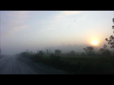 Sunrise On A Florida Dirt Road