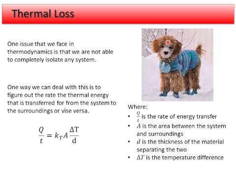 10. Thermodynamics - Thermal Loss