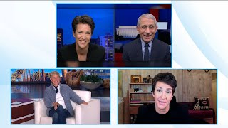 Dr. Fauci Was Blocked from Appearing on Rachel Maddow's Show