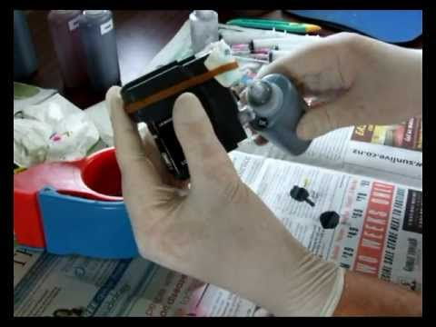 Tips and Tricks refill Brother inkjet cartridge
