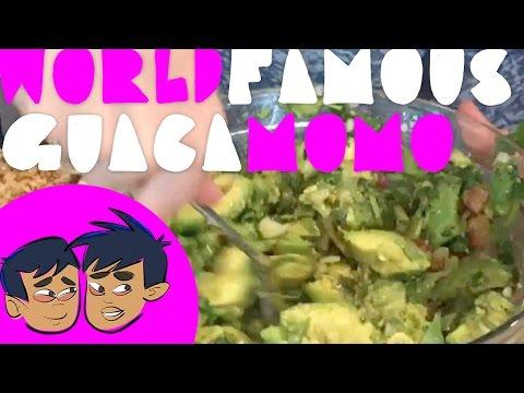 How to make Guacamole (the world famous GuacaMomo) Momo style (Budding Foodies)