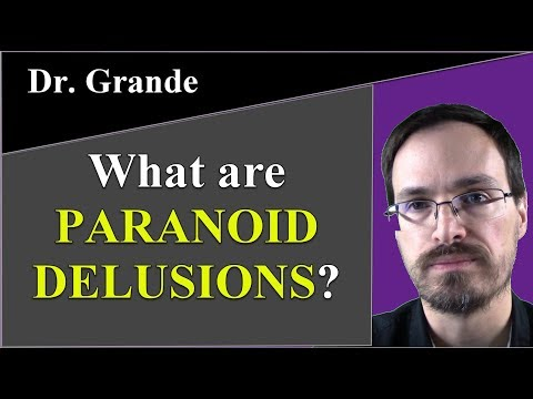 What are Paranoid Delusions (Persecutory Delusions)?