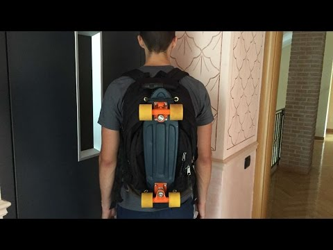 How To Make A DIY Pennyboard Backpack - DIY  Tutorial - Guidecentral