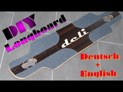 How to build a longboard with intarsia