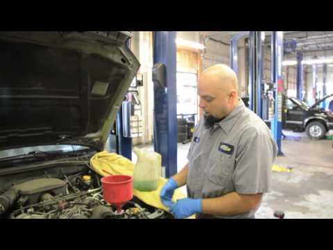 AllwheelDriveAuto Coolant Drain and Fill