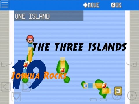 POKEMON FIRE RED   WALKTHROUGH   THE THREE ISLANDS