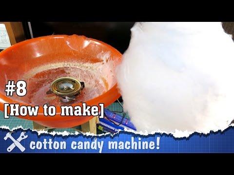 DIY cotton candy machine