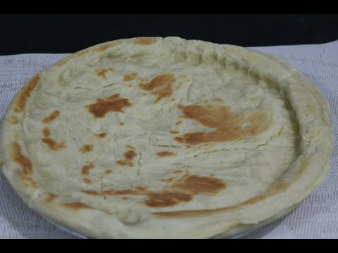 How to make HOME MADE PRE-COOKED PIZZA CRUST پزا کرست