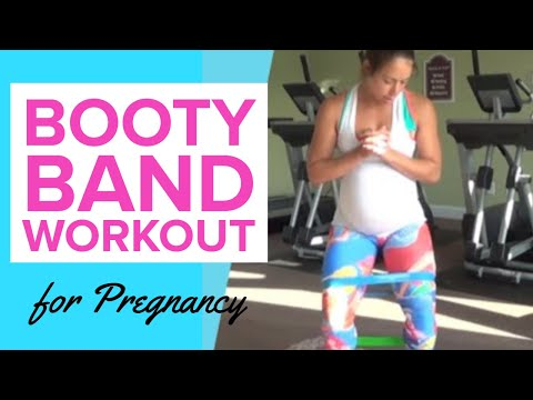 Resistance Bands During Pregnancy - lower body workout