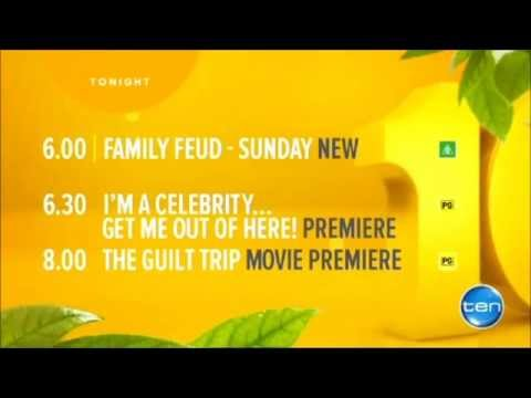 Channel Ten - I'm a Celebrity Get of Out of Here! themed Lineup (1/2/2015)