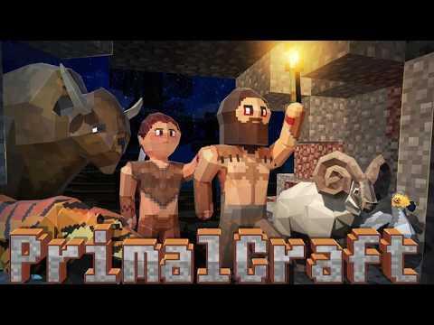 PrimalCraft: Survival Craft with Minecraft Skins Exporter - ( Promo Video)