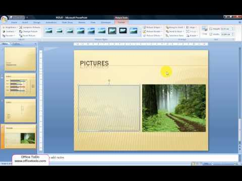 Powerpoint | How to make an image transparent?