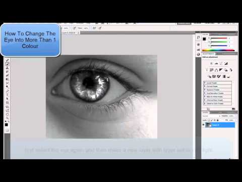 How To: Change Your Eye Color - Adobe Photoshop CS5