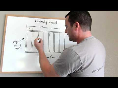 Framing Tip and an Introduction to Stud Layout(#1024)