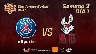Challenger EU - Jornada 3 - PSG VS MFA - MAPA 2 - #ChallengerLVP