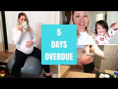 4 DAYS UNTIL INDUCTION | TRYING TO INDUCE LABOR NATURALLY