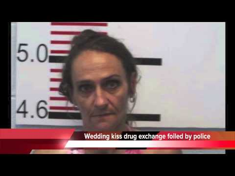 Wedding kiss drug exchange lands Tennessee bride in jail