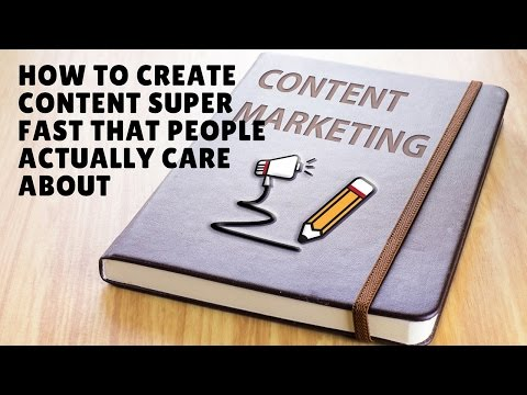 How to create content for your blog or website